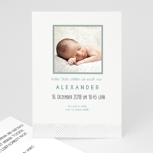 Babykarten für Jungen - Pures Glück 35055