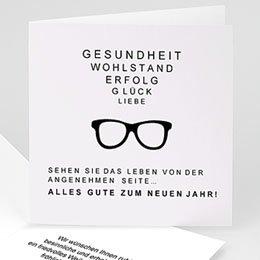Weihnachtskarten - A vos lunettes - 1
