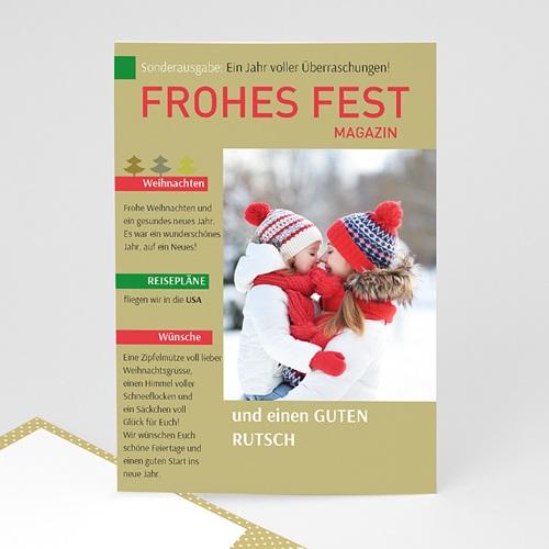 Weihnachtskarten - Weihnachtszeitung 35116