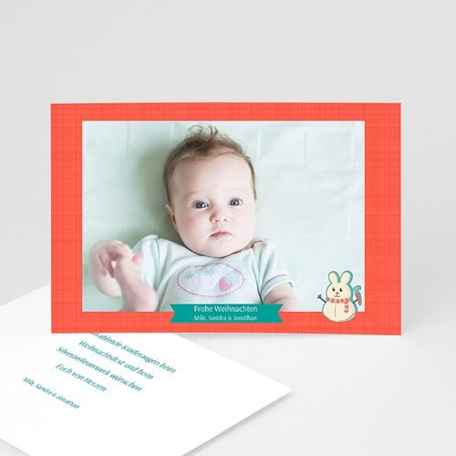 Weihnachtskarten - Schneemann 35161