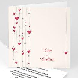 Hochzeitseinladungen modern - Hochzeitskarte Paris - 1