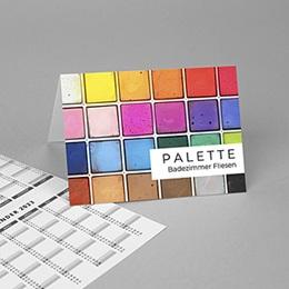 Taschenkalender - Farbenfrohes Jahr - 1