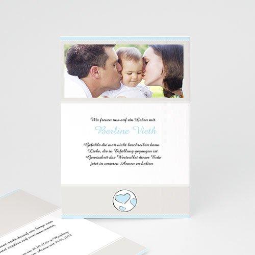 Adoptionskarten für Jungen - Adoptionskarte 1 3552