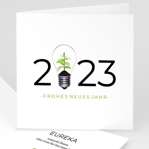Weihnachtskarten - Grüne Idee 35737