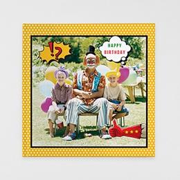 Fotobuch Quadratisch 30 x 30 cm - Super Anniversaire - 0