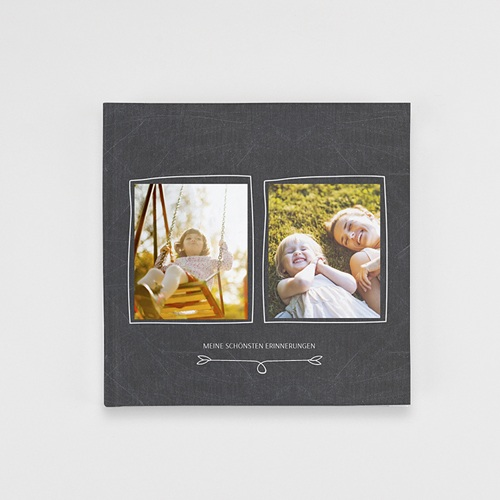 Fotobuch Quadratisch 20 x 20 cm - Nostalgie Kreide 36251