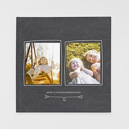 Fotobuch Quadratisch 30 x 30 cm - Nostalgie Kreide - 0