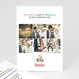 Danksagungskarten Hochzeit  - Märchenhochzeit - 0