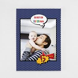 Fotobuch A4 Portrait - Papa ist ein Superheld - 0