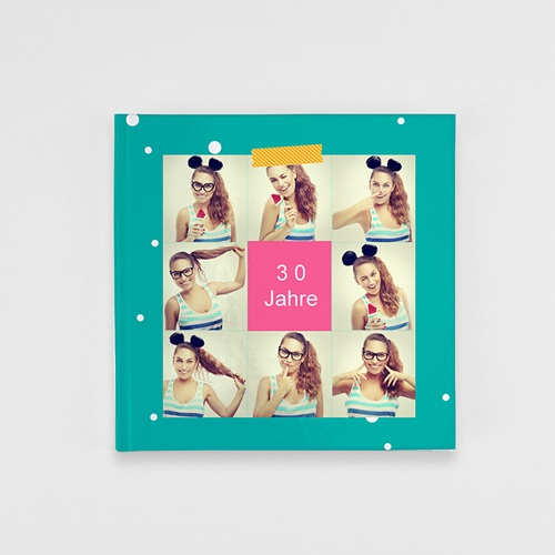 Fotobuch Quadratisch 20 x 20 cm - Geburtstag Flashy 36829