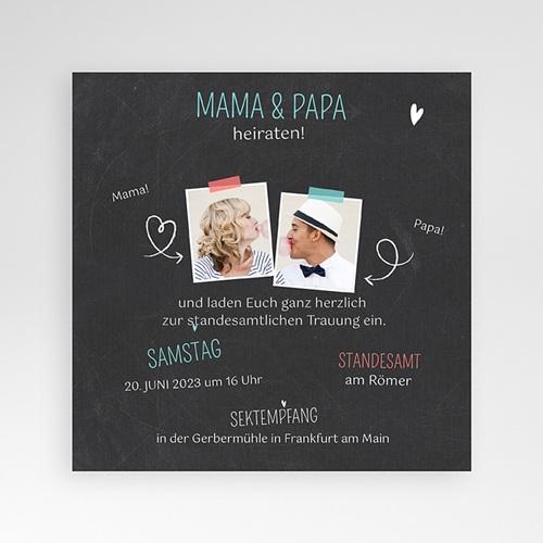 Hochzeitskarten Quadratisch - Meine Eltern 36851