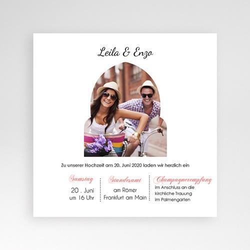 Hochzeitskarten Quadratisch - 1001 Nacht 37451