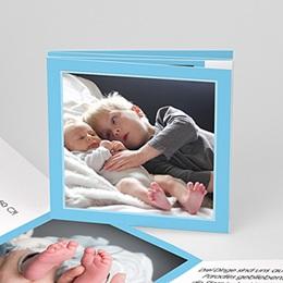 Geburtskarten Jungen - Leporello Baby 1008