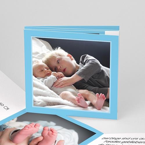 Babykarten für Jungen - Leporello Baby  3760
