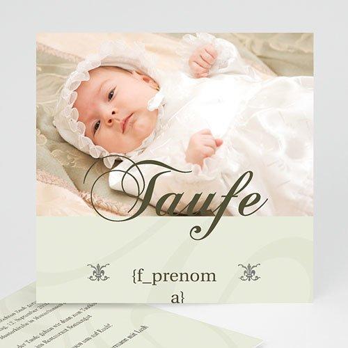 Einladungskarten Taufe Mädchen - Taufzeremonie 3772
