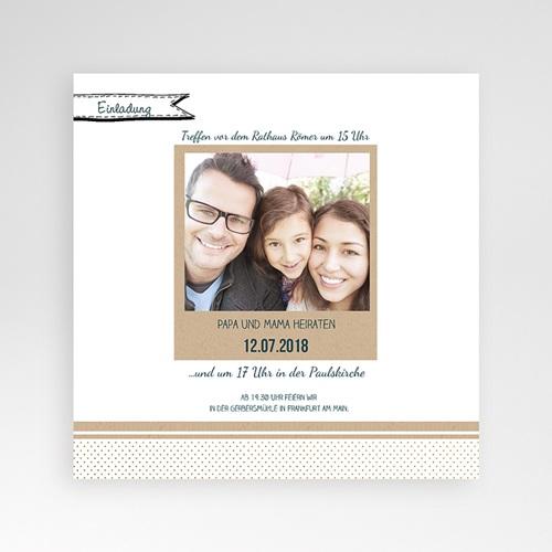 Hochzeitskarten Quadratisch - Detailverliebt 37787