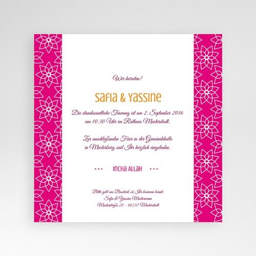 Hochzeitskarten Quadratisch - Tamana 37883