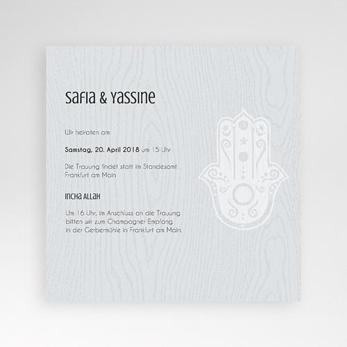 Hochzeitskarten Quadratisch - Tamina 37919