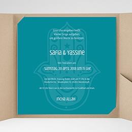 Hochzeitskarten Quadratisch - Kashmira - 0