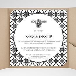 Hochzeitskarten Quadratisch - Rana - 0