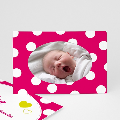 Dankeskarten Geburt Mädchen - Dankeskarte Lilah 3796