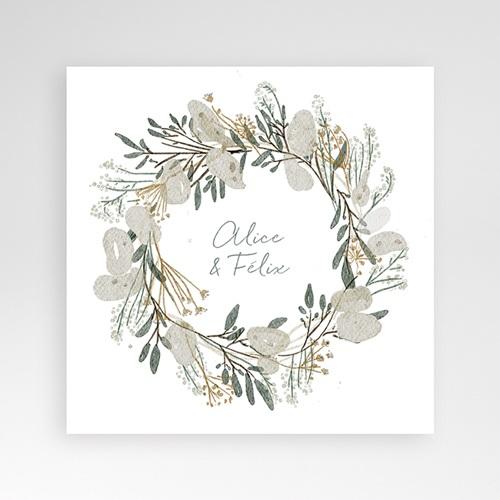 Hochzeitskarten Quadratisch - Tafeldesign 38068