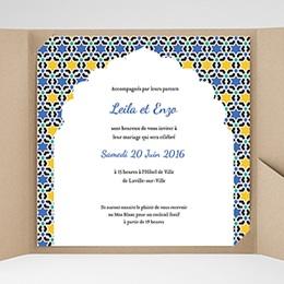 Hochzeitskarten Quadratisch - Orient Express - 0