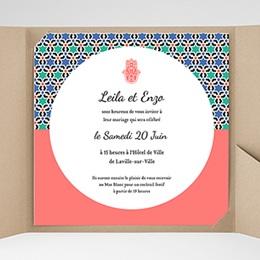 Hochzeitskarten Quadratisch - Alhambra - 0