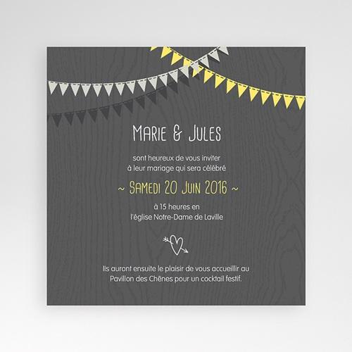 Hochzeitskarten Quadratisch - Hochzeitsdeko 38196