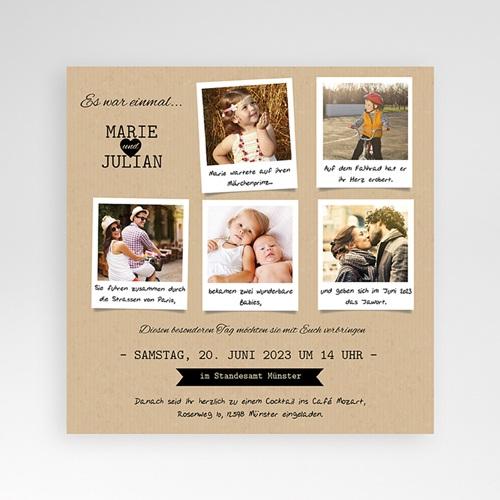 Einladungskarten zur Hochzeit selbst designen