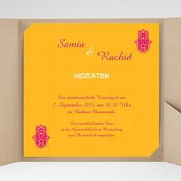 Hochzeitskarten Quadratisch - Susan - 0