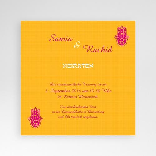 Hochzeitskarten Quadratisch - Susan 38508