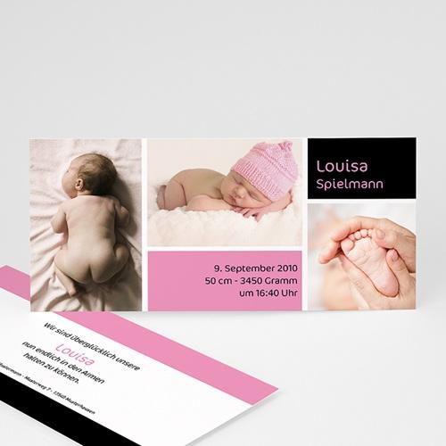 Geburtskarten für Mädchen - Freudiges Ereignis - Mädchen 3908