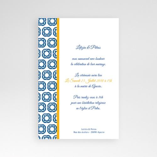 Hochzeitskarten Querformat - Design Lissabon 39348