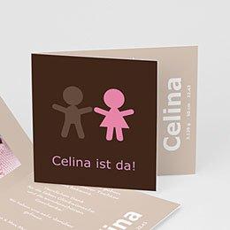 Geburtskarten für Mädchen - Es ist ein Mädchen! - 1