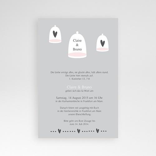 Hochzeitskarten Querformat - Glück zu Zweit 39568