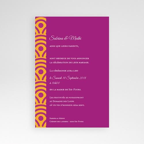 Hochzeitskarten Querformat - Marrakech Ambiente 39668