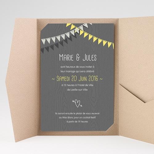 Hochzeitskarten Querformat - Hochzeitsdeko 39697