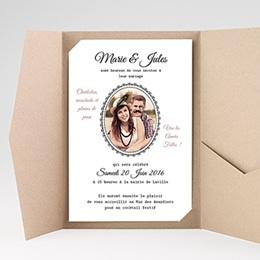 Hochzeitskarten Querformat - Die Goldenen Zwanziger - 0