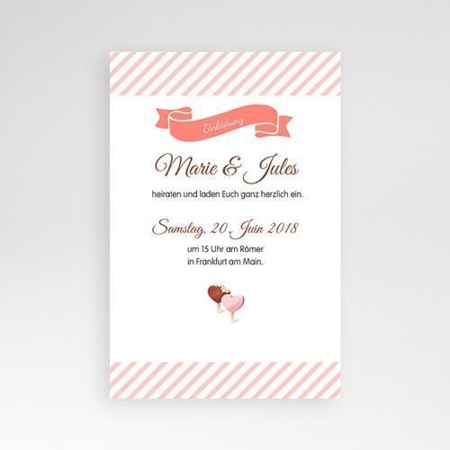 Hochzeitskarten Querformat - Gourmandise 39812