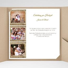 Hochzeitskarten Quadratisch - Green Wedding - 0