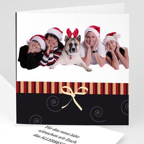 Weihnachtskarten - Schlichte Weihanchtsgrüsse 4034