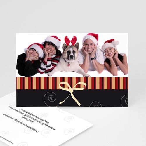 Weihnachtskarten - Schlichte Weihanchtsgrüsse 1 4038