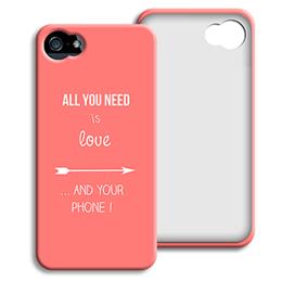 Case iPhone 5/5S - Ich liebe dich mehr als.... - 0