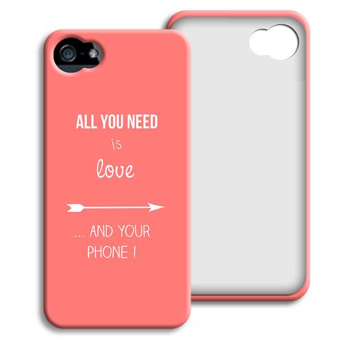 Case iPhone 5/5S - Ich liebe dich mehr als.... 40428