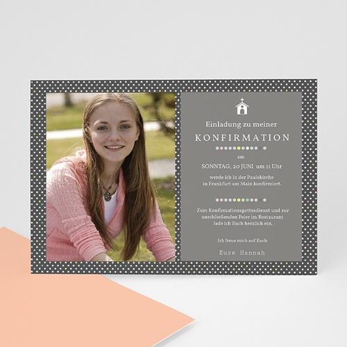 Einladungskarten Konfirmation - Mit Stil 40560