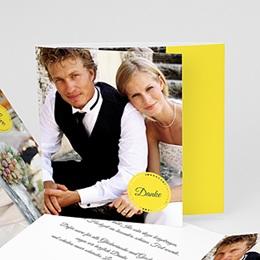 Danksagungskarten Hochzeit  - Inspiration Zitrone - 0