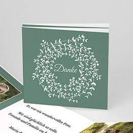 Danksagungskarten Hochzeit  - Diadem - 0