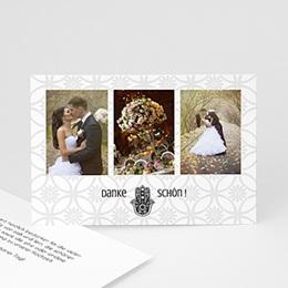 Danksagungskarten Hochzeit  - Rana - 0
