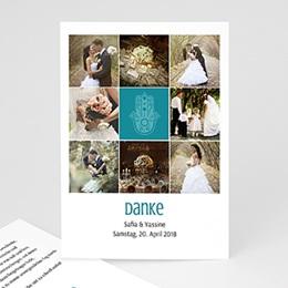 Danksagungskarten Hochzeit  - Kashmira - 0